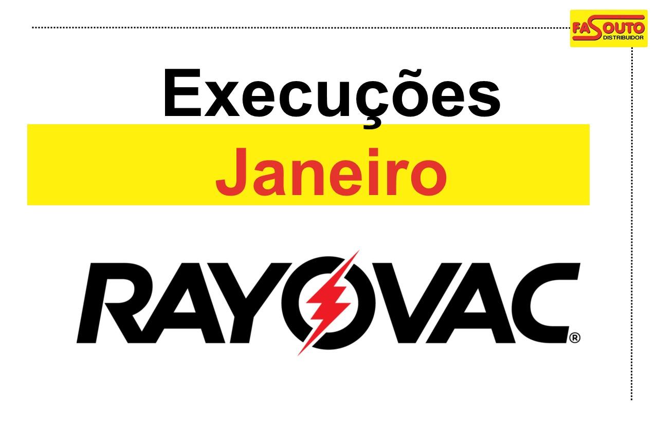 Rayovac - Janeiro 2019