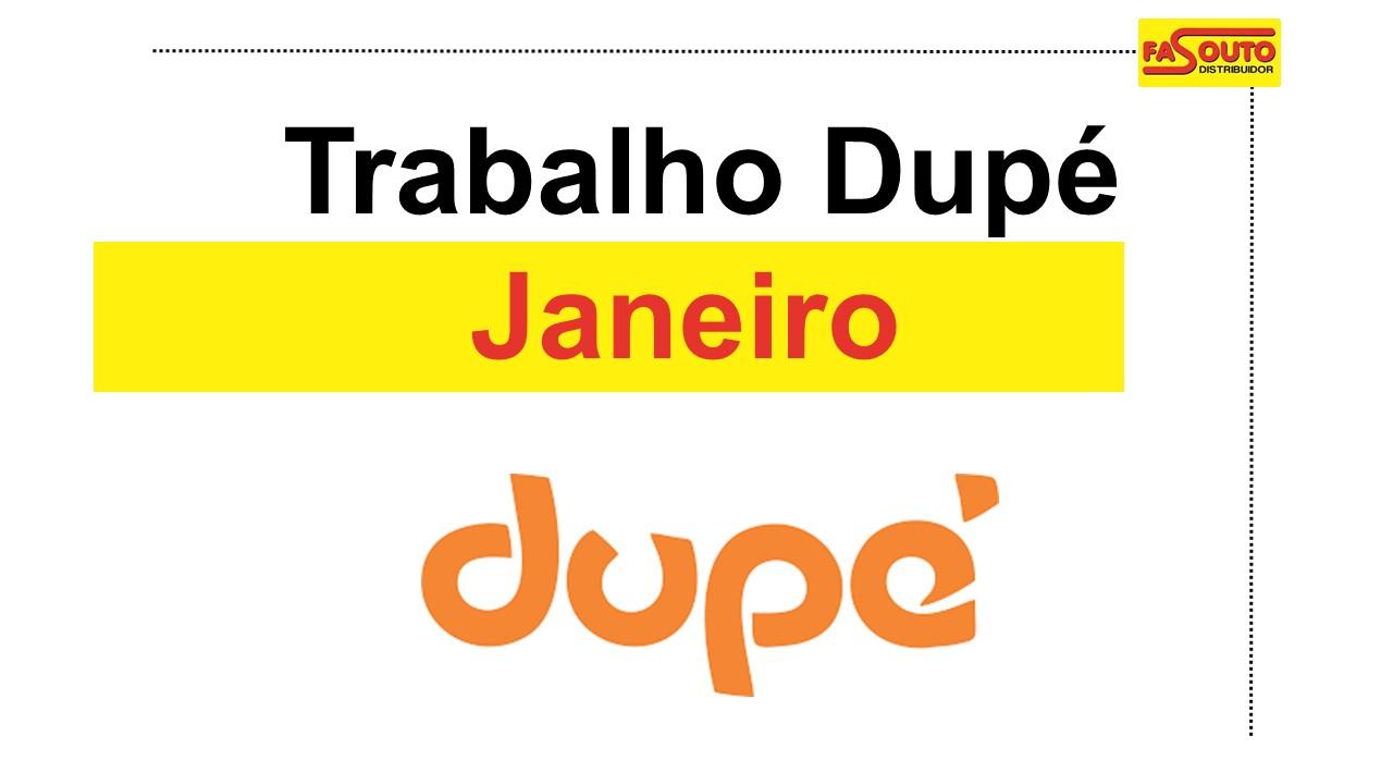 Dupé - Janeiro 2019