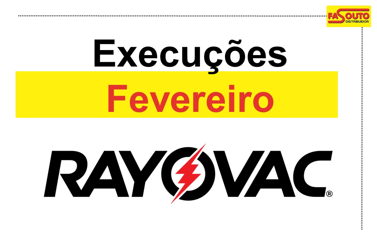 Rayovac - fevereiro 2019