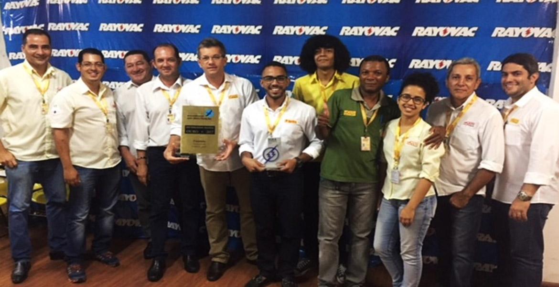DOBRADINHA: Fasouto Distribuidor é premiada como Distribuidor Padrão Ouro e Fera em Vendas 2017.