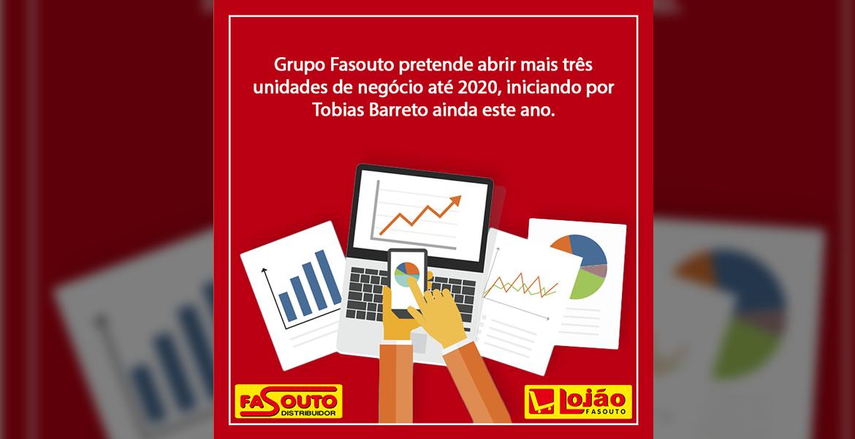 Grupo Fasouto quer abrir mais três unidades até 2020, iniciando por Tobias Barreto ainda este ano.