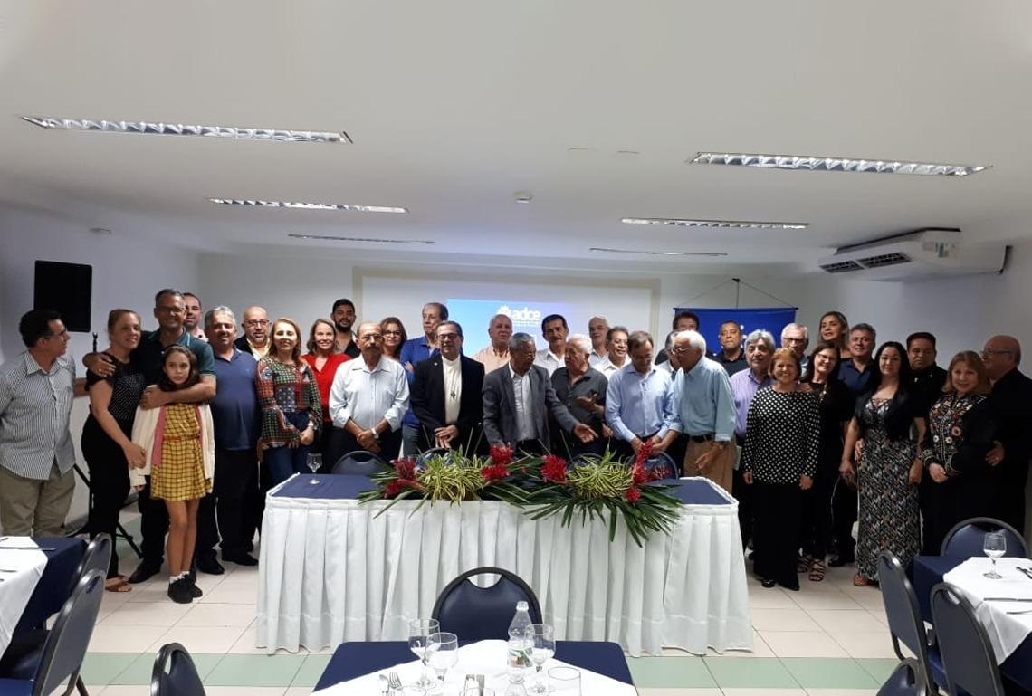 Jantar da ADECE/SE - Associação de dirigentes cristãos de empresas – SE.